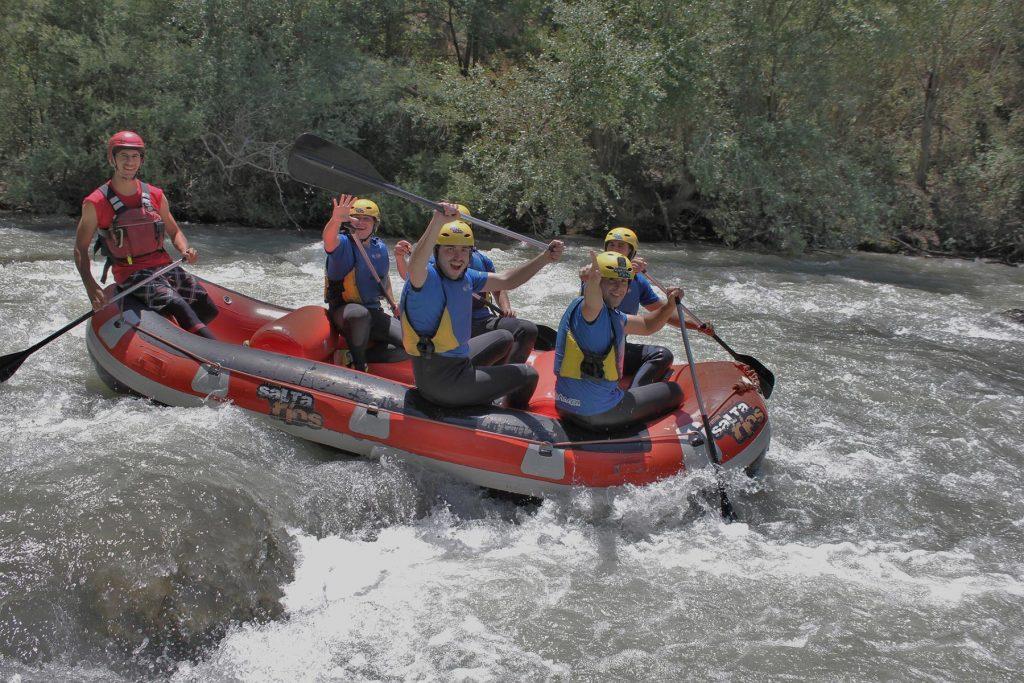 Rafting en Andalucía
