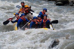 Rafting y piragüismo en el río Guadalfeo