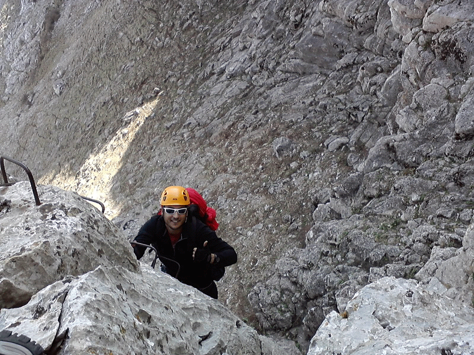 Via Ferrata Cuevas De San Marcos