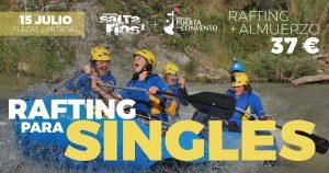 Rafting para singles en el río Genil