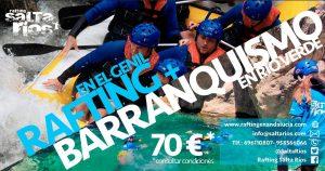 Rafting y Barranquismo en Andalucía| Oferta conjunta 70€